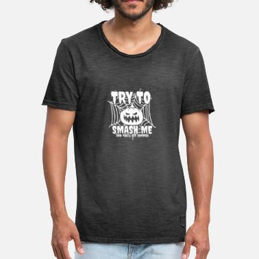 Try Me try to Smash Me - Men's Vintage T-Shirt