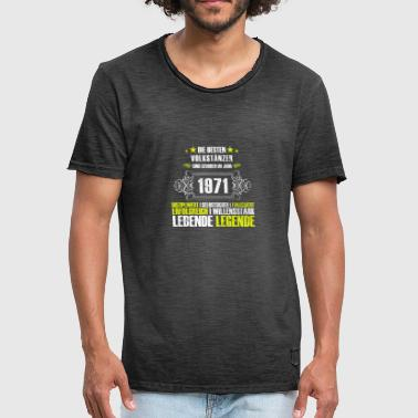 A gift for the 46th birthday of the dancers - Men's Vintage T-Shirt