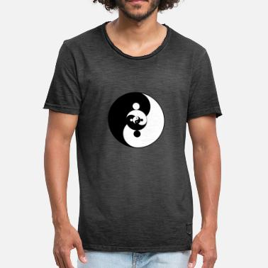Yin And Yang Yin Yang Yin Yang - Men's Vintage T-Shirt