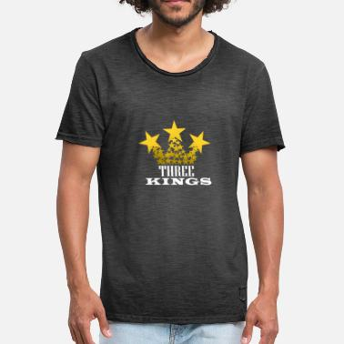 Three Kings three kings - Men's Vintage T-Shirt