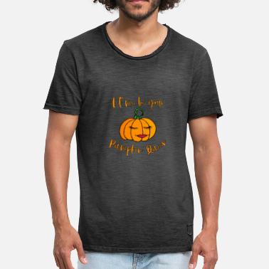 Halloween Königin - Pumpkin Queen - Let me be your - Männer Vintage T-Shirt
