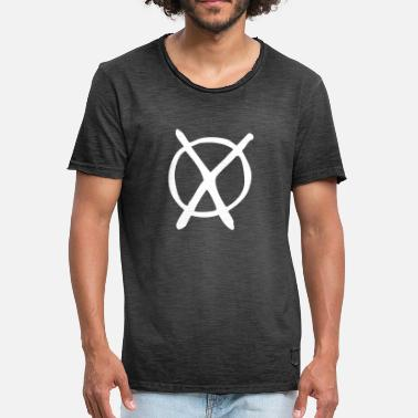 Verkiezing Van De Bondsdag Party verkiezing Cross - Mannen Vintage T-shirt