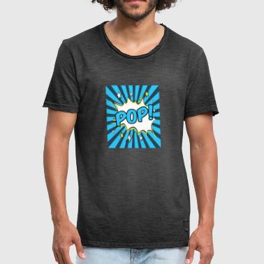 Pop Art Pop Art - Mannen Vintage T-shirt
