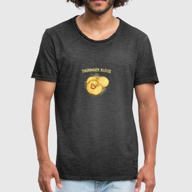 Thuringian dumplings Thuringia gift - Men's Vintage T-Shirt