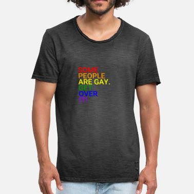 Lgbt Some people are gay - Men's Vintage T-Shirt