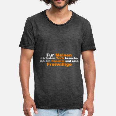 Voluntary Voluntary saying - Men's Vintage T-Shirt