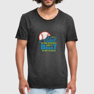 Baseball Funny Sayings Sports - Men's Vintage T-Shirt