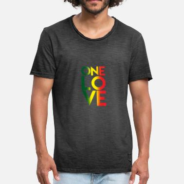 One One Love - Men's Vintage T-Shirt