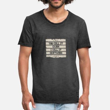 Exam Exam - Men's Vintage T-Shirt
