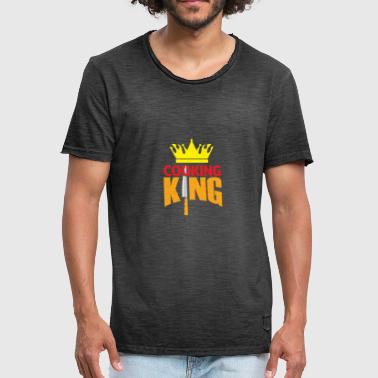 Kings Chef Chef King Gift Chef Christmas - Men's Vintage T-Shirt