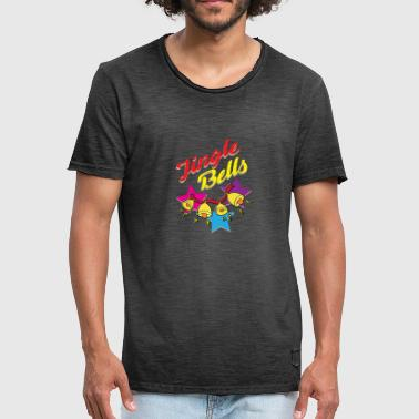 Camiseta Jingle Bells - Camiseta vintage hombre