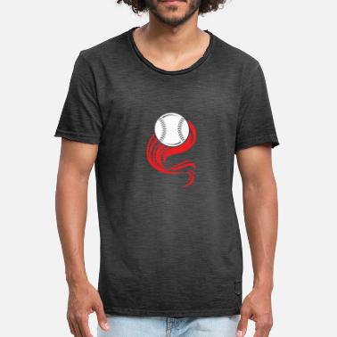 Baseball Catcher Baseball Team Athlete Pitcher Catcher - Men's Vintage T-Shirt