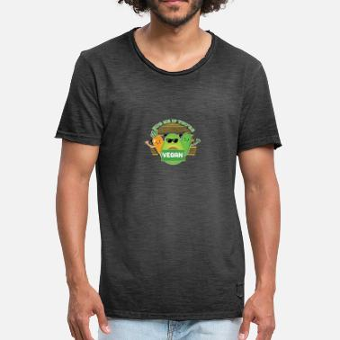 Vegan Hugs Hug Me If You're A Vegan - Men's Vintage T-Shirt