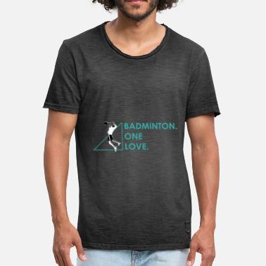 Badminton Players Player in badminton badminton player gift - Men's Vintage T-Shirt