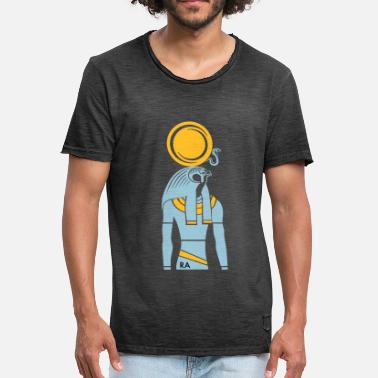 Sun RA - sun god - Men's Vintage T-Shirt