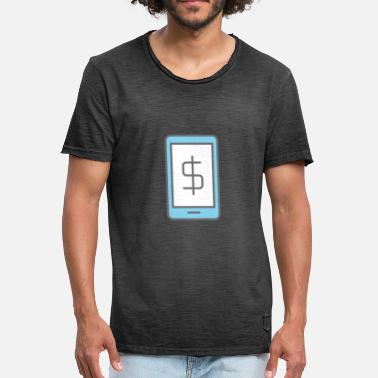 Banking Mobile Banking - Mannen Vintage T-shirt