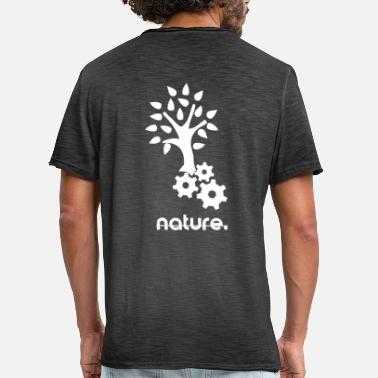 Machines Mouvement *** *** Machine * Nature Arbre. *** - T-shirt vintage Homme