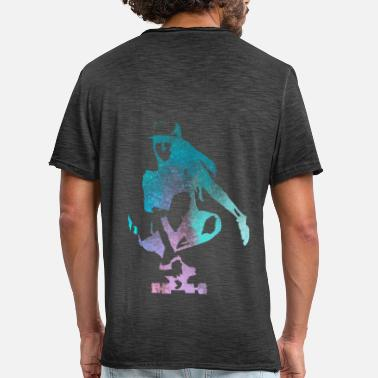 Skater Skater girl - Men's Vintage T-Shirt