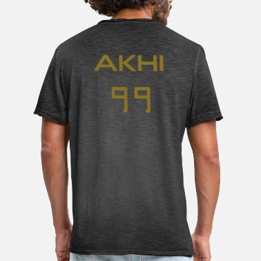 Productive Muslim AKHI 99 + Desired names - Men's Vintage T-Shirt