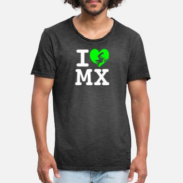 I love MX 2 - T-shirt vintage Homme