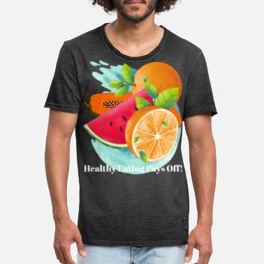 Healthy Eating HEALTHY EATING - Men's Vintage T-Shirt