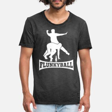 Sportsånd Flunkyball Alcohol Drinking Party Malle Student - Vintage T-shirt mænd