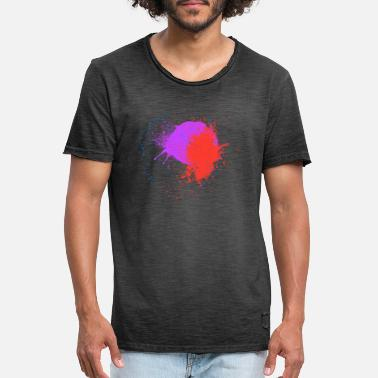 Color Spots Color spots design - Men's Vintage T-Shirt