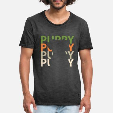 Puppy puppies - Men's Vintage T-Shirt