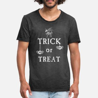 Trick Trick or Treat - trick or treat - Men's Vintage T-Shirt
