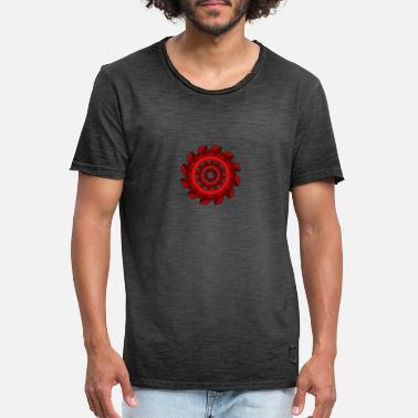 Abstract wheel - Men's Vintage T-Shirt
