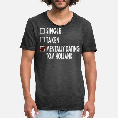 Dating Dating Tom Holland - Mannen vintage T-shirt