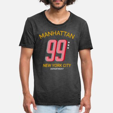 Collegestyle Manhattan | NYC Collegestyle - Vintage T-shirt mænd