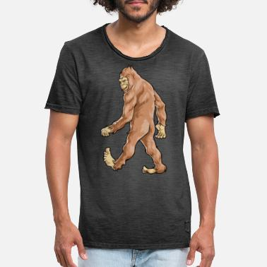 Sasquatch Bigfoot Sasquatch - T-shirt vintage Homme