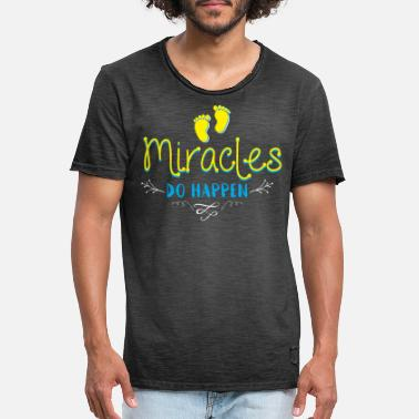 Miracles Do Happen Les miracles se produisent - T-shirt vintage Homme