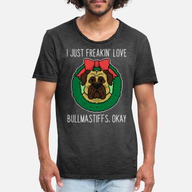 Bullmastiff-NEUF Coton GRIS T-Shirt Toutes Les Tailles