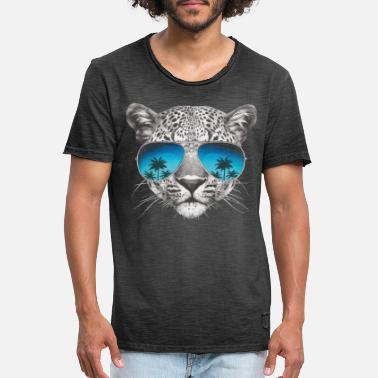 Animal Planet Animal Planet Leopard Cool - Vintage T-shirt herr
