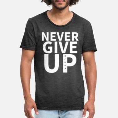 Semifinals NEVER GIVE UP - Liverpool Kloppo UCL 4: 0 Vs. Barca - Men's Vintage T-Shirt