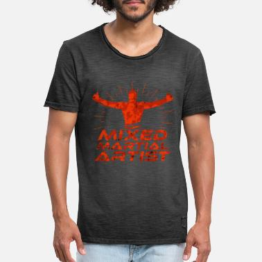 Mixed Martial Arts Mixed Martial Arts - Männer Vintage T-Shirt