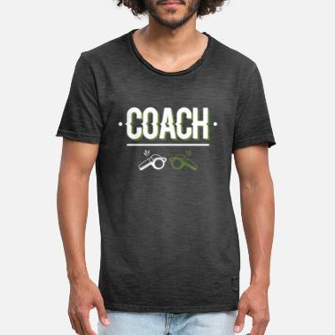 Coaching Coach - Coach - Men's Vintage T-Shirt