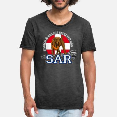 Search search and rescue dog 1 - Men's Vintage T-Shirt