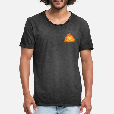 Slot Calcifer - Vintage T-shirt mænd