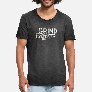 Coffee Grounds Coffee ground outfit - Men's Vintage T-Shirt