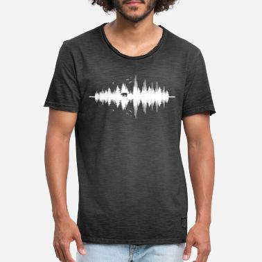 Sound Waves The Sound Of Nature - Men's Vintage T-Shirt