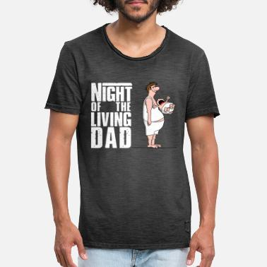Daddy Of The Year bester Papa - Superdad - Daddy of the year - Männer Vintage T-Shirt