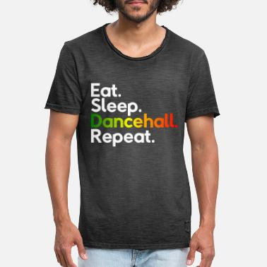 Dancehall Eat Sleep Dancehall Repeat - Men's Vintage T-Shirt