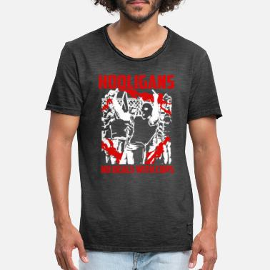 Halbzeit Hooligans No Deals with Cops - Männer Vintage T-Shirt