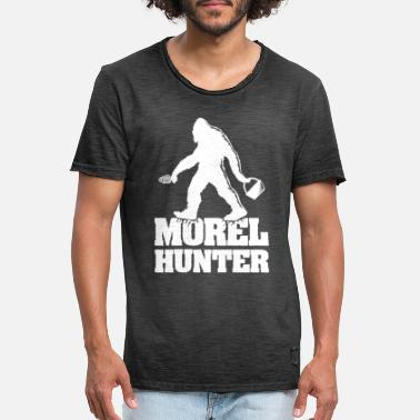 Morele Morel Hunter - Mannen vintage T-shirt