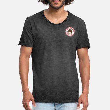 Chic-a-Boo Vintage logo emblem - Men's Vintage T-Shirt
