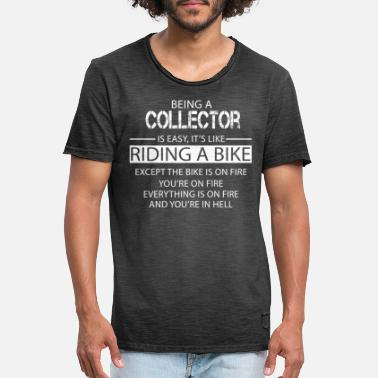 Collector Collector - Men's Vintage T-Shirt