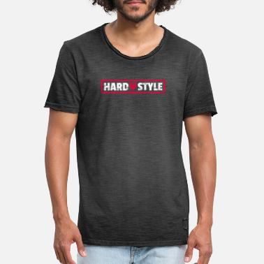 Hardstyle Lover Heart Rawstyle Heart - Men's Vintage T-Shirt